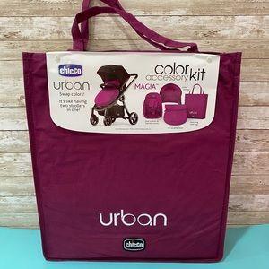 NWT Chicco Urban Magia color accessory kit